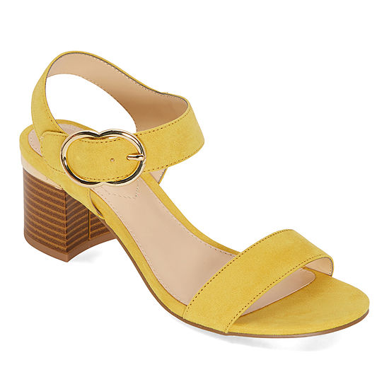 Liz Claiborne Womens Lovey Heeled Sandals