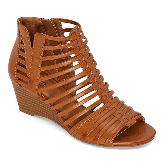 a.n.a Womens Montreal Wedge Sandals