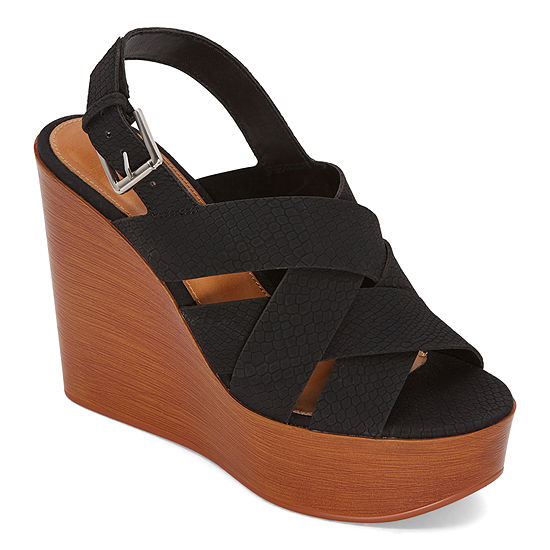 a.n.a Womens Dorian Wedge Sandals
