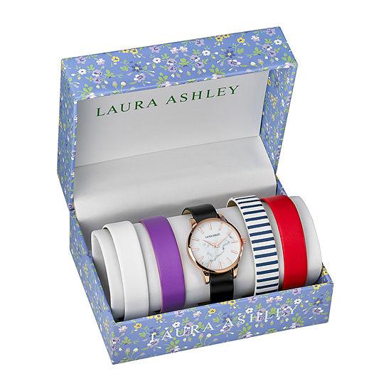 Laura Ashley Womens Pink Bracelet Watch-Lass1105rg
