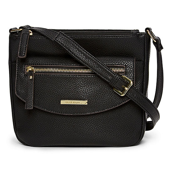 Liz Claiborne Double Zip Crossbody Bag