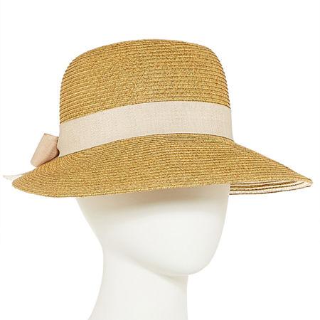 Edwardian Ladies' Hats History Scala Unisex Adult Framer Hat One Size  Brown $27.00 AT vintagedancer.com