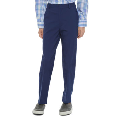 Collection By Michael Strahan Boys Flat Front Pant-Big Kid