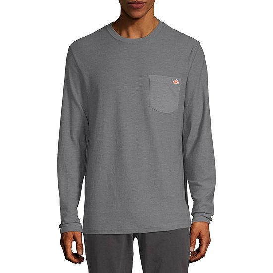 St. John's Bay Outdoor Mens Crew Neck Long Sleeve T-Shirt