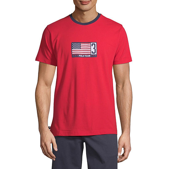 U.S. Polo Assn. Mens Crew Neck Short Sleeve T-Shirt