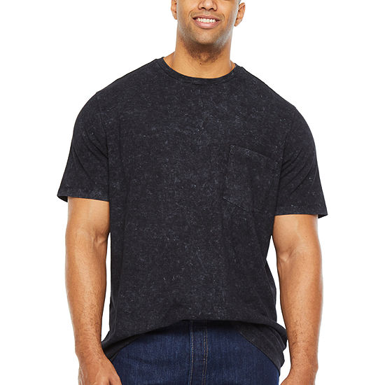 The Foundry Big & Tall Supply Co.-Big Mens Crew Neck Short Sleeve T-Shirt
