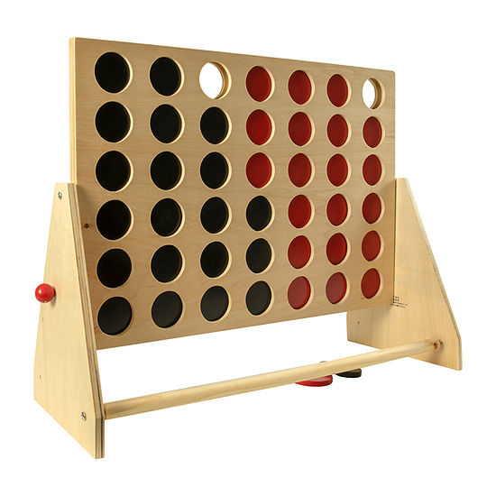 Homewear Wood 4 In A Row Family Game