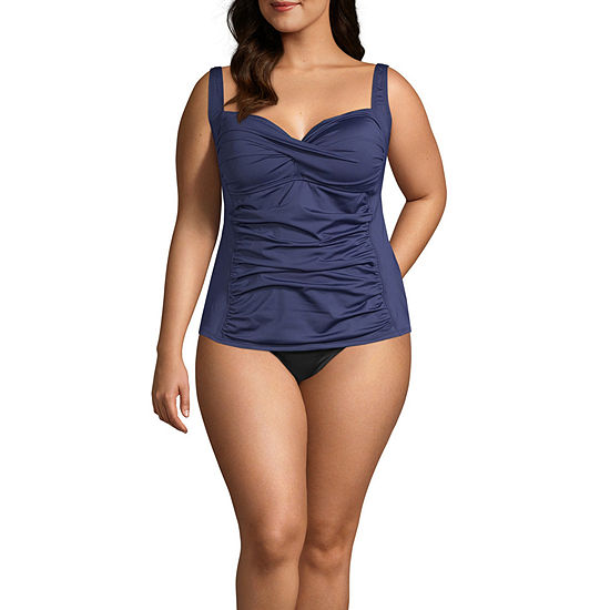 Liz Claiborne Tankini Swimsuit Top or Swimsuit Bottom Plus