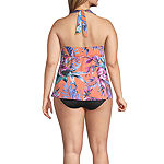Liz Claiborne Floral Tankini Swimsuit Top or Swimsuit Bottom Plus
