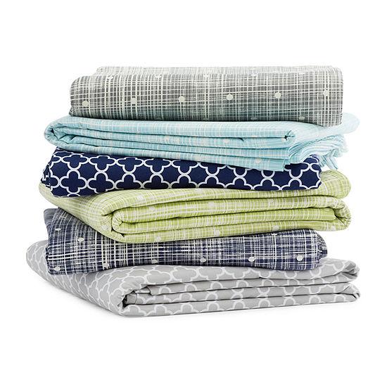 Ienjoy Home Casual Comfort™ Premium Ultra Soft Polka Dot Pattern Duvet Cover Set