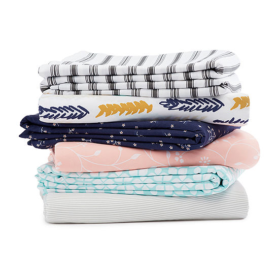 Casual Comfort Premium Ultra Soft Pinstriped Duvet Cover Set