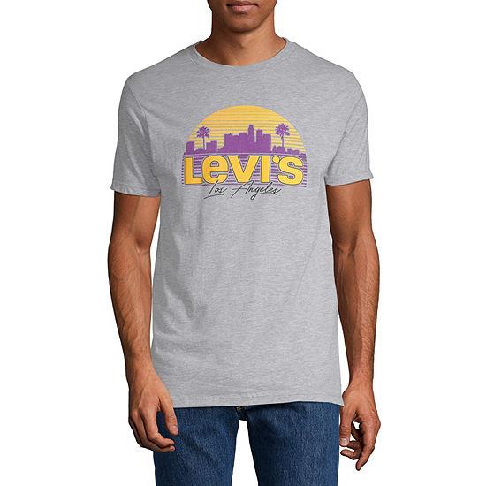 Levi's Men's Crew Neck Short Sleeve T-Shirt