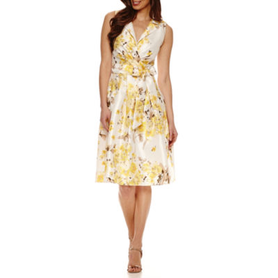 Fit and Flare Sleeveless Dress