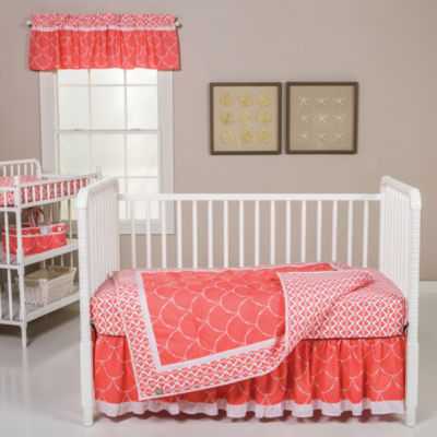 Trend Lab Shell 3-pc Crib Bedding Set
