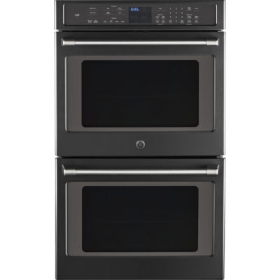 """GE® Café™ Series 30"""" Built-In Double Convection Wall Oven"""
