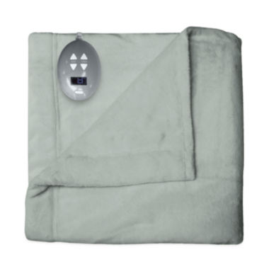 Safe And Warm Velvet Plush Heated Plush Electric Blanket