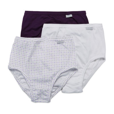 Jockey Plus Elance® Queen 3 Pair Brief Panty