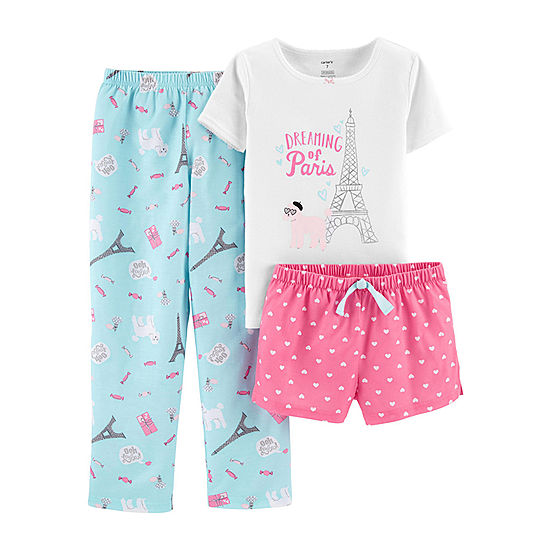 Carter s Pajama Sleep 3-pc. Set- Preschool Girl - JCPenney f4cc39c9f