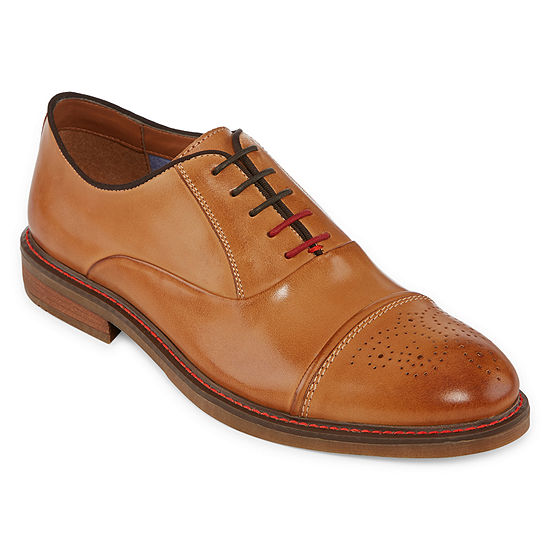 Stafford Mens Jahil Oxford Shoes Lace-up