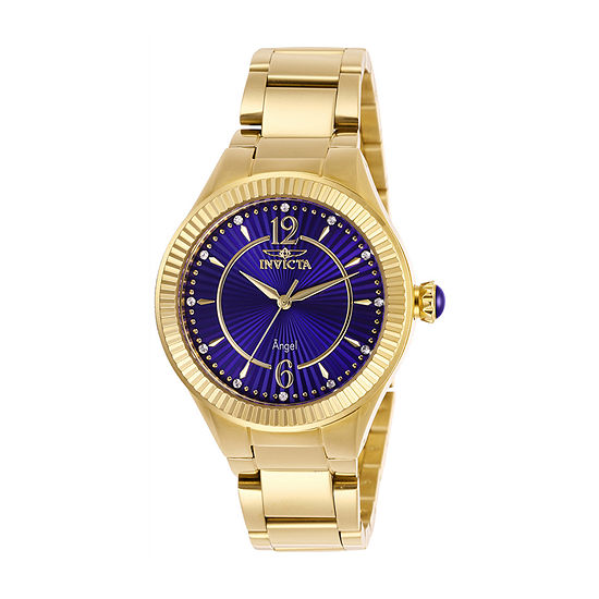 Invicta Womens Gold Tone Bracelet Watch 28281