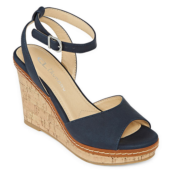 CL by Laundry Womens Bangle Wedge Sandals
