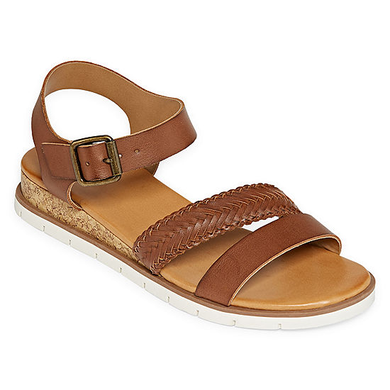 cf14517c0e15 a.n.a Womens Uptown Wedge Sandals - JCPenney