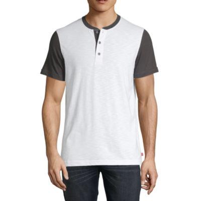 Levi's Ss Knits Short Sleeve Henley Shirt