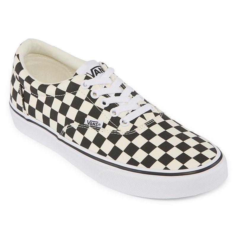 Retro Sneakers, Vintage Tennis Shoes Vans Doheny Mens Lace-up Skate Shoes Size 9 Medium Black $41.19 AT vintagedancer.com