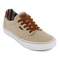 491525ba5842 Vans Atwood Deluxe Mens Lace-up Skate Shoes