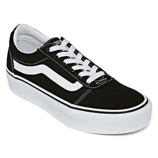 Vans Ward Platform Womens Skate Shoes Slip-on