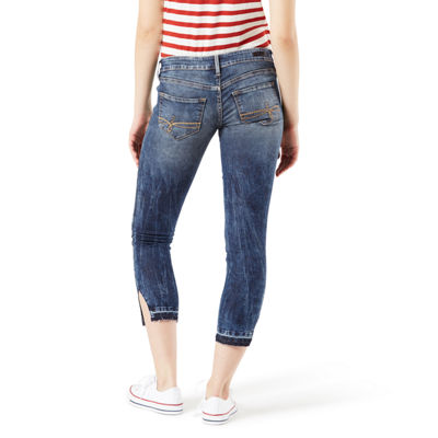 Denizen Womens High Waisted Jeggings - Juniors