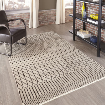 Momeni Atlas 1 Hand Knotted Rectangular Indoor Accent Rug