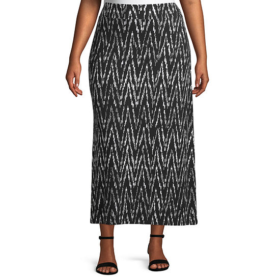 Liz Claiborne Maxi Skirt - Plus