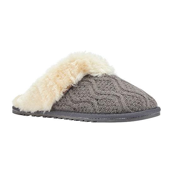 Lamo Caroline Knit Scuff Womens Slip-On Slippers