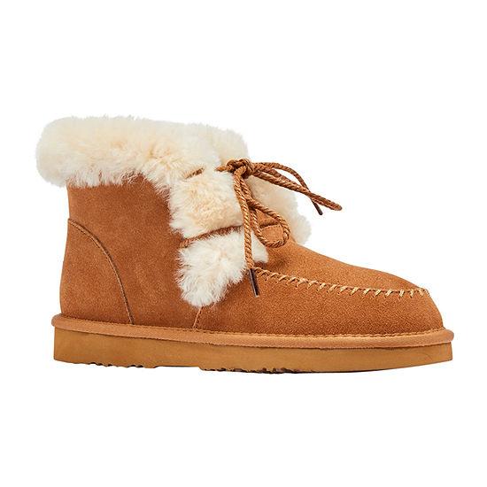 Lamo Womens Camille Winter Boots Flat Heel