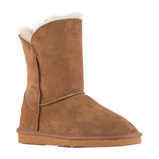 Lamo Womens Ladies Round Toe Slip-On Shoe