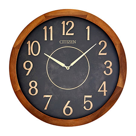 Citizen Brown Wall Clock-Cc2052, One Size