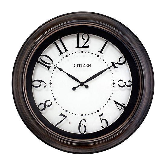 Citizen White Wall Clock-Cc2053