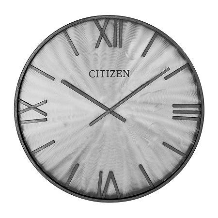 Citizen Gray Wall Clock-Cc2056, One Size