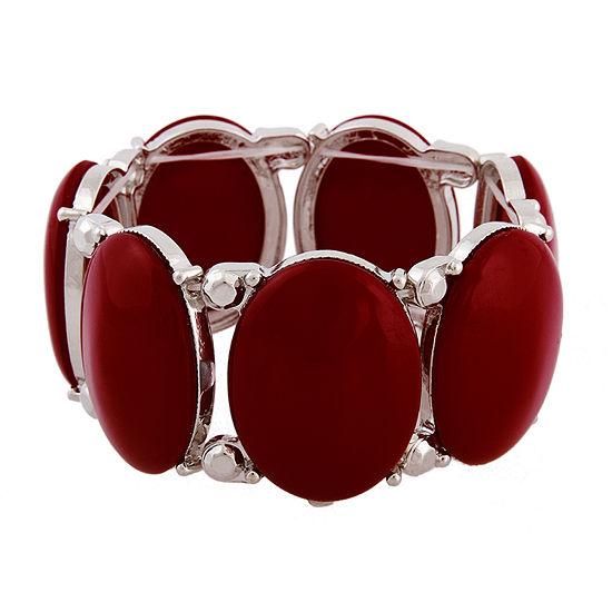 Mixit Red 7.5 Inch Stretch Bracelet