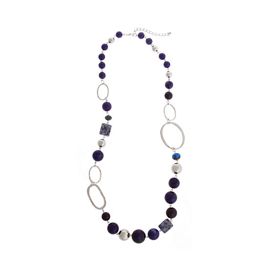 Mixit 33 Inch Beaded Necklace