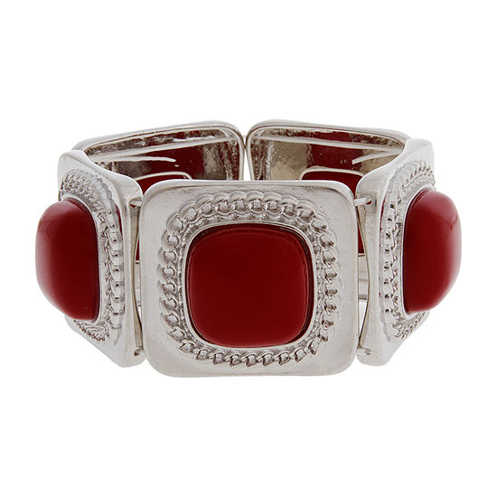 Mixit Red Stretch Bracelet