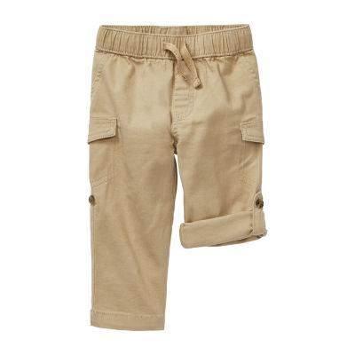 Okie Dokie Boys Cuffed Cargo Pant - Baby