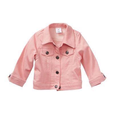 Okie Dokie-Baby Girls Denim Jacket