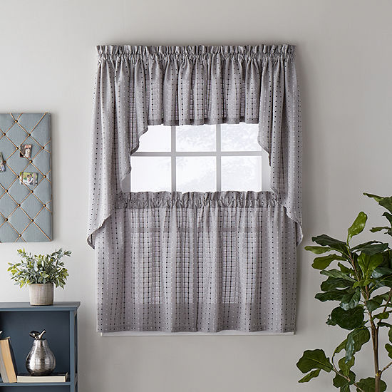 Saturday Knight Hopscotch Multi-Pack Rod-Pocket Tailored Valance