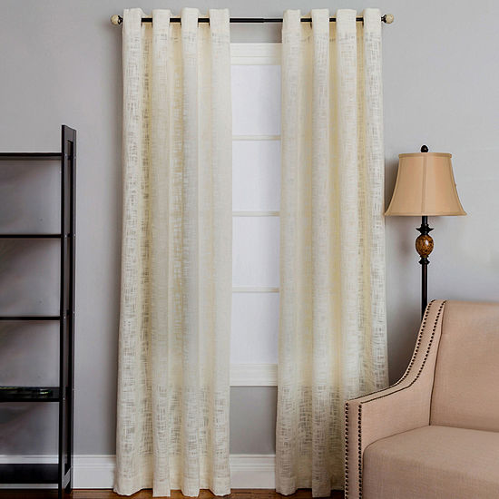 Miller Curtains Morris Light-Filtering Grommet-Top Single Curtain Panel