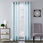 Sunsafe Salvatore Floral Light-Filtering Grommet-Top Single Curtain Panel