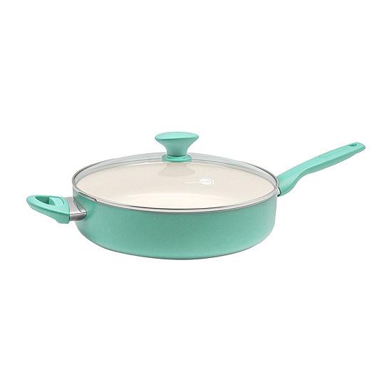 GreenPan Rio Aluminum Dishwasher Safe Non-Stick Saute Pan