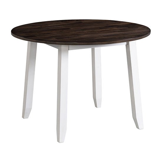 Landry Dining Collection Round Wood-Top Dining Table
