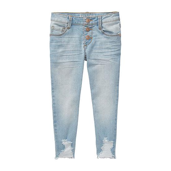 Arizona Little Kid / Big Kid Girls Skinny Fit Jean